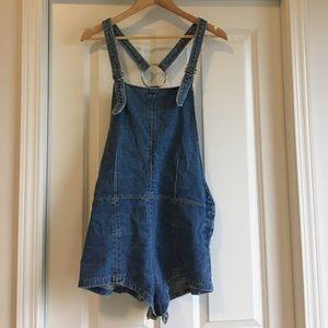 Denim Mini overalls